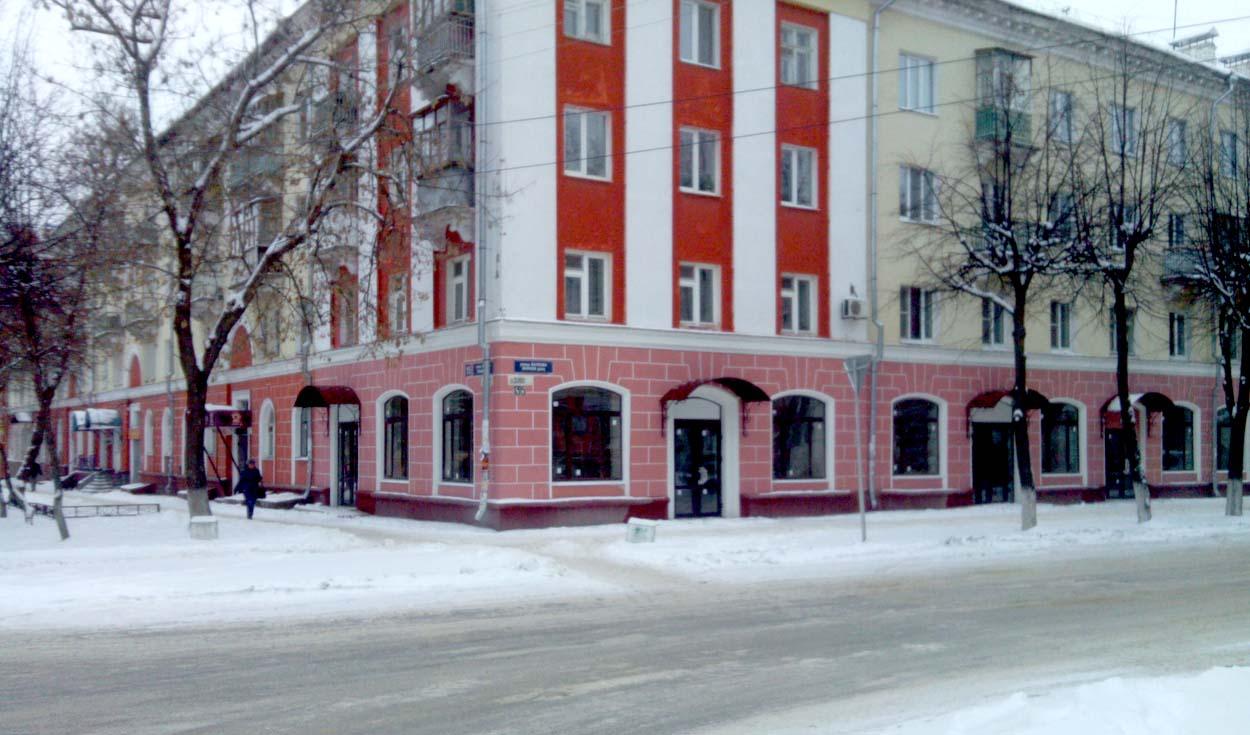 Реконструкция помещений здания по ул. Пушкина 14 (2014г.)
