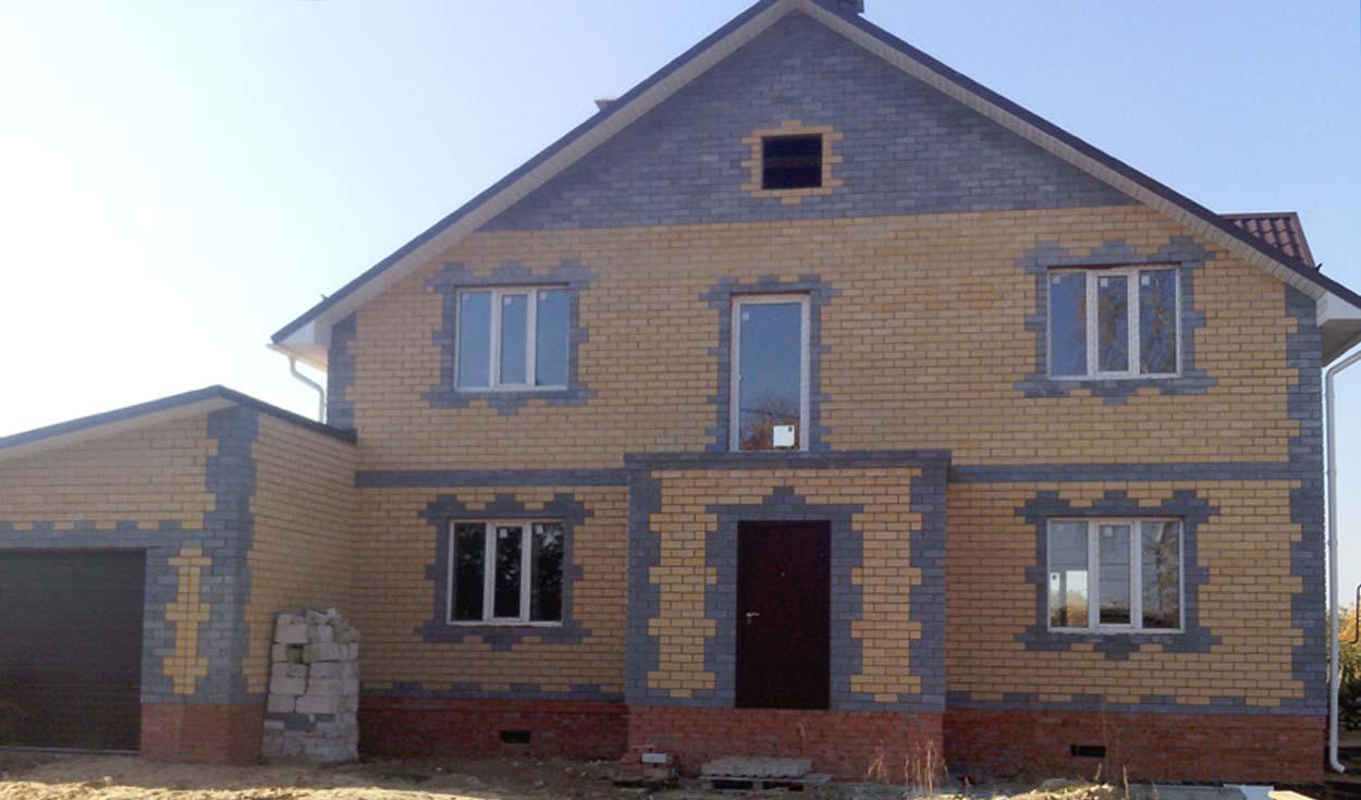 Строительство частного жилого дома по ул. Серова (г. Йошкар-Ола) 2013г