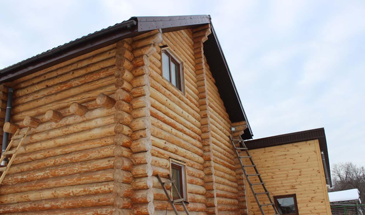 Отделка деревянного дома в п. Куяр (РМЭ) 2014г