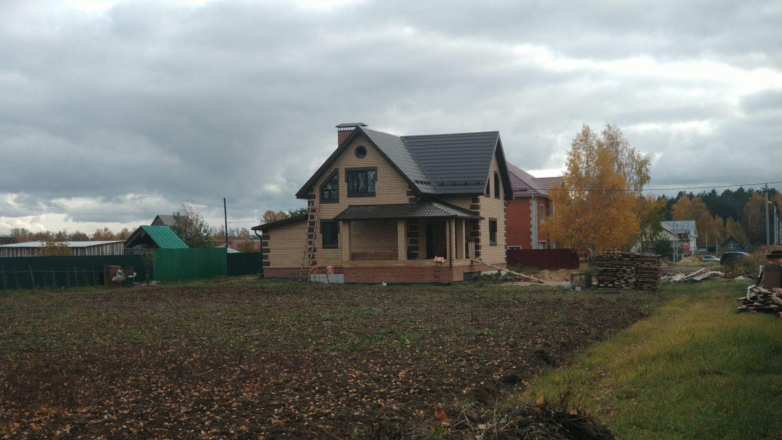 Строительство частного дома в п. Руэм