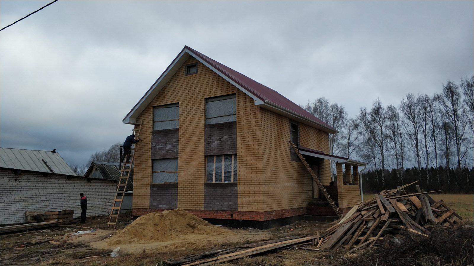 Строительство частного дома в п. Руэм (2)