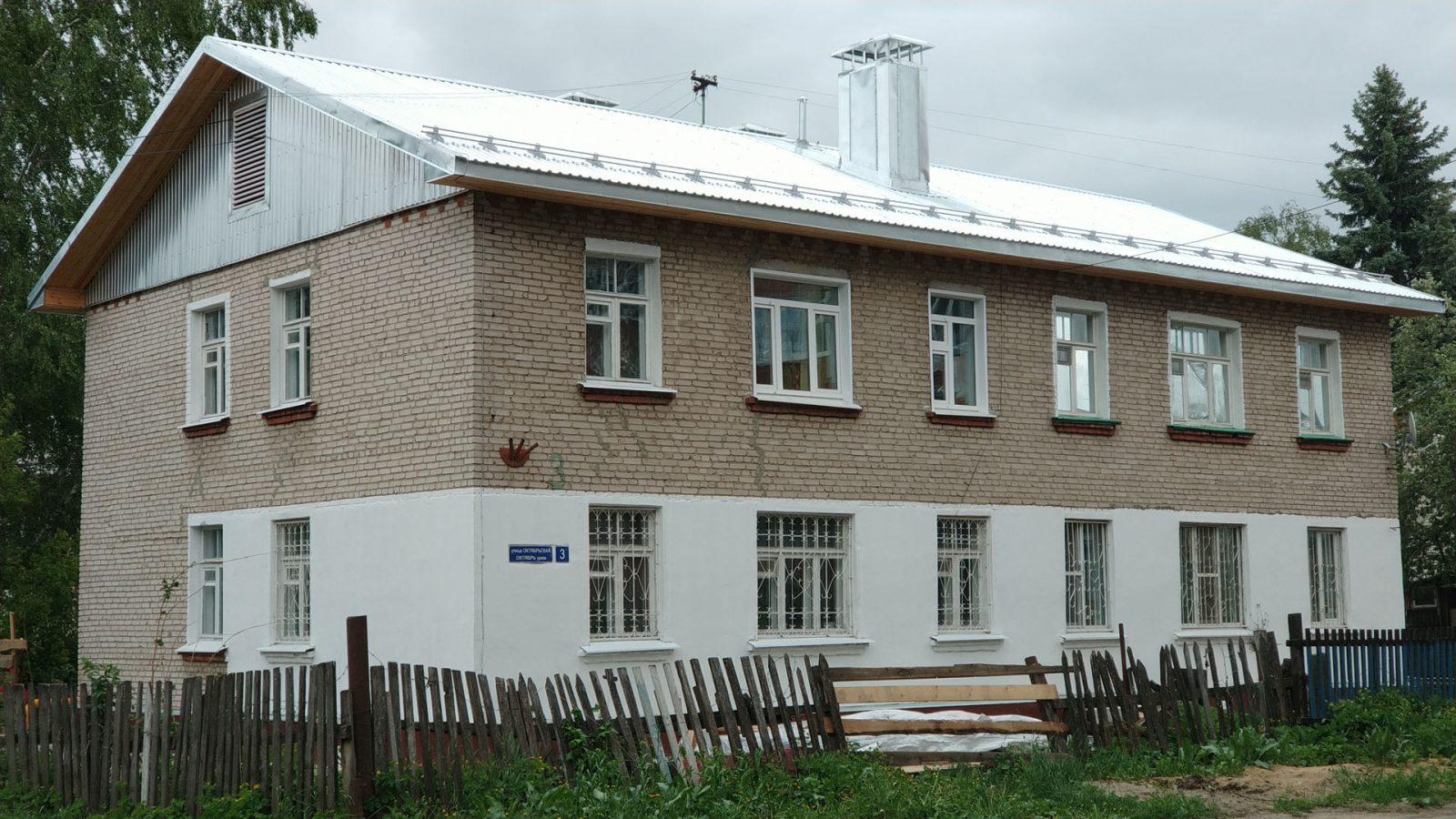 Капитальный ремонт дома по ул. Октябрьская 3