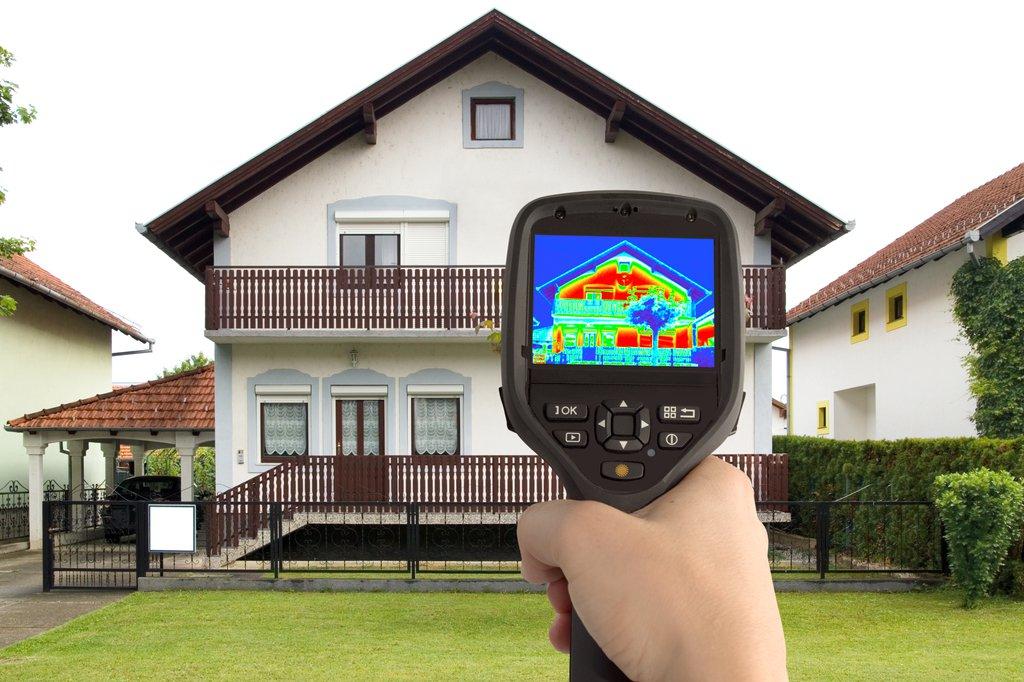 Тепловизионное обследование зданий